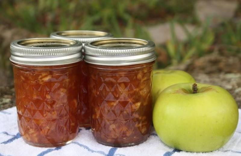 Варенье из яблок с лимоном: рецепты на зиму с фото, пошагово