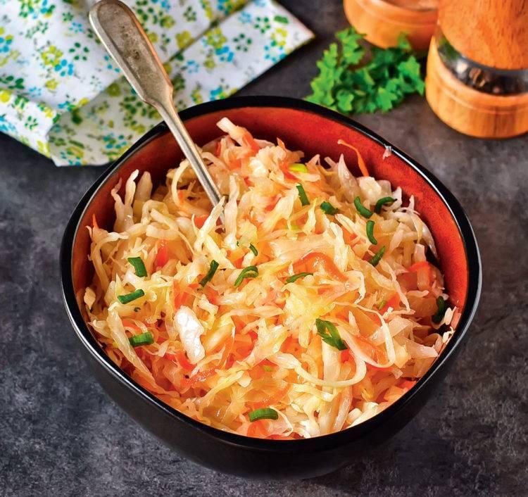Маринованная капуста крупными кусками - 6 рецептов быстрого приготовления с пошаговыми фото