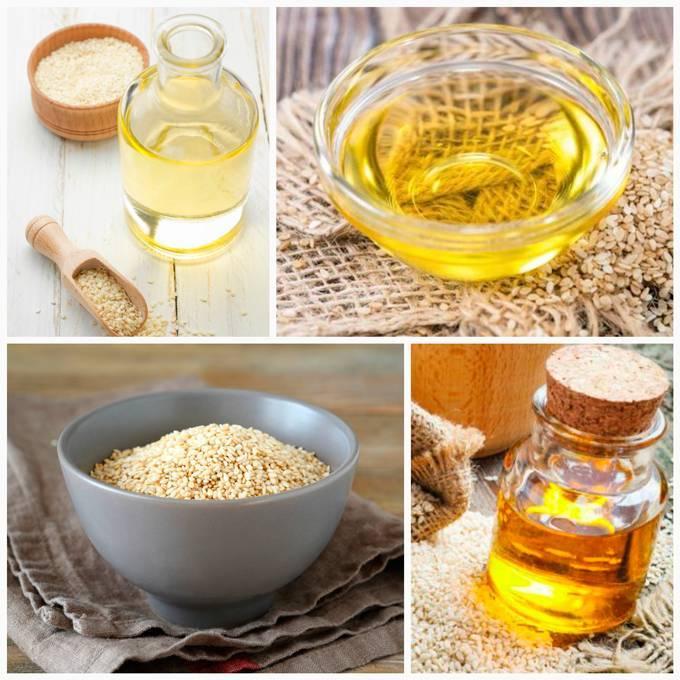 Использование кунжутного масла: химический состав, польза для женщин, правила приема