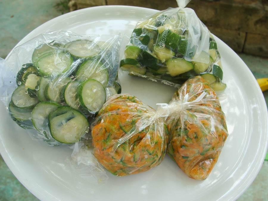 Можно ли заморозить кабачки в морозилке на зиму. общие правила: как сохранить вкус и пользу овоща | здоровье человека