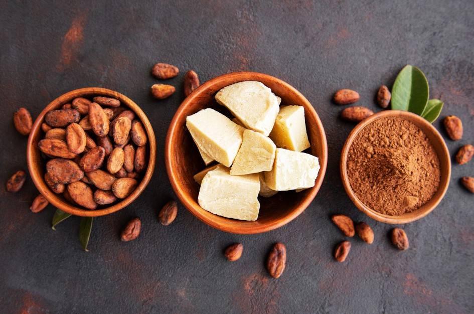 Масло какао: полезные свойства и области применения ценного продукта