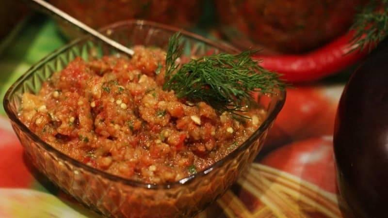 """Икра из баклажанов на зиму """"пальчики оближешь"""" - самые вкусные рецепты баклажанной икры"""