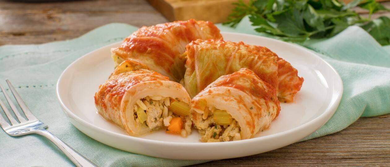 Голубцы овощные - простые пошаговые рецепты с фото и описанием