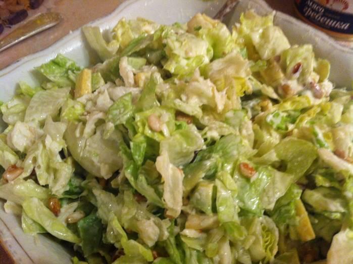 Рецепты салат с авокадо и грушей