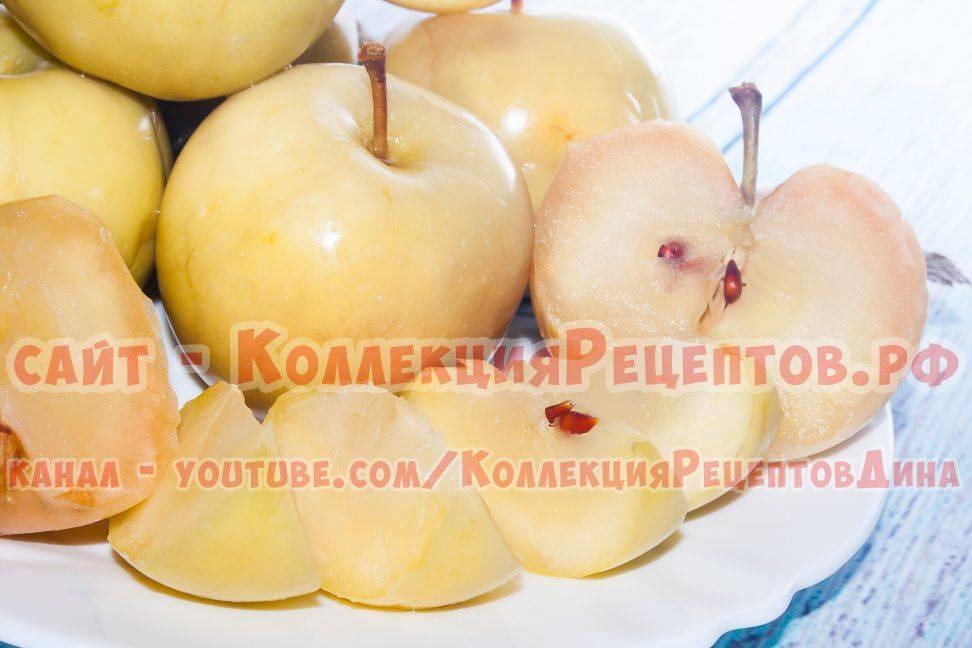 Моченые яблоки на 3 литровую банку — 5 рецептов с фото пошагово