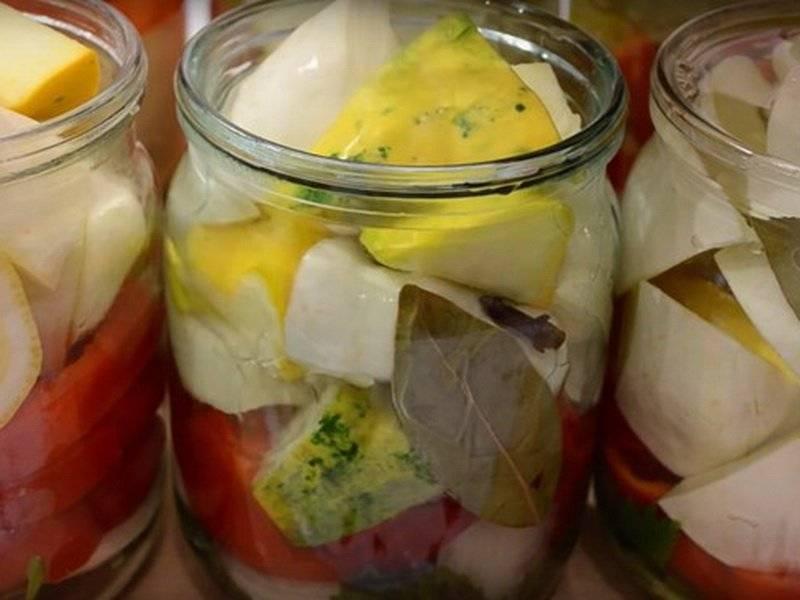 Патиссоны на зиму - вкусные пошаговые рецепты заготовок