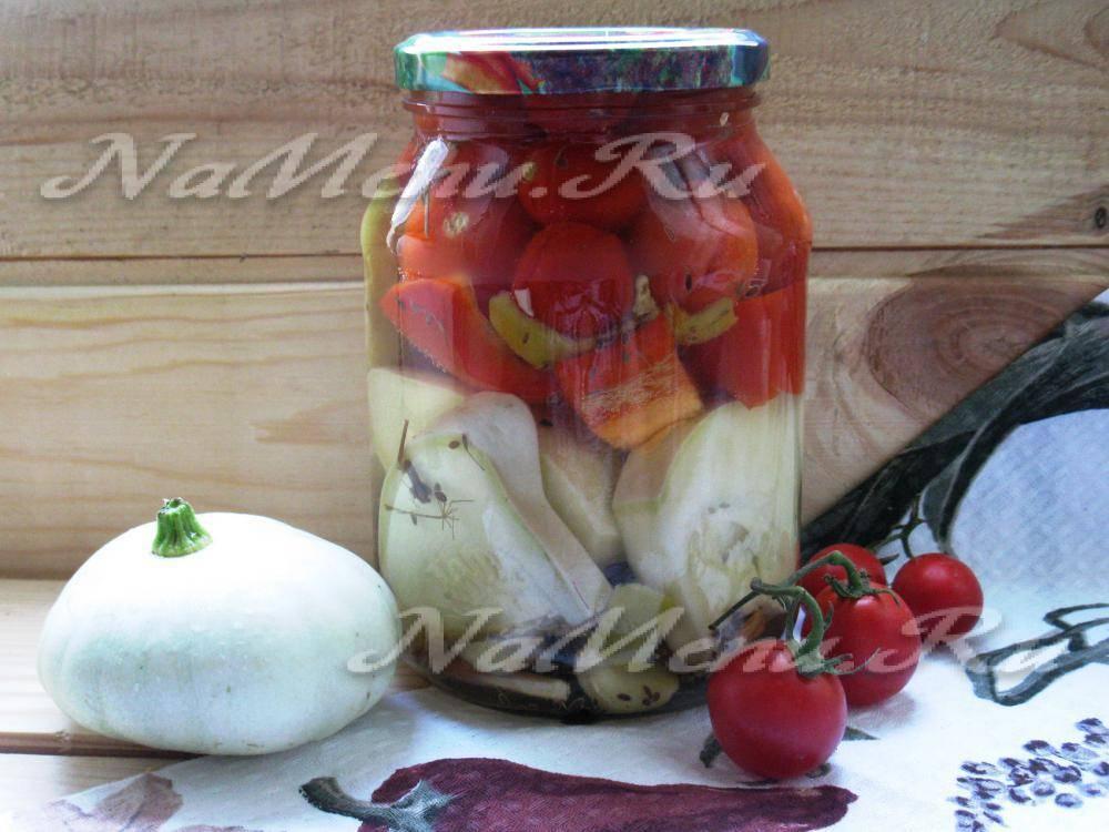 10 простых и вкусных рецептов с патиссонами на зиму
