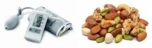 Грецкие орехи и давление
