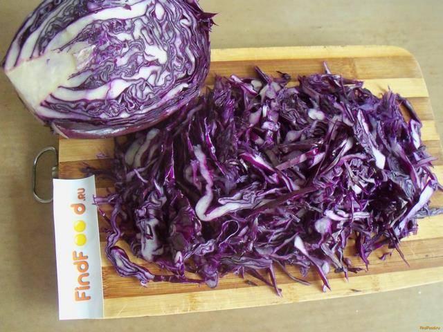 Очень вкусные рецепты приготовления краснокочанной капусты на зиму, фото блюд