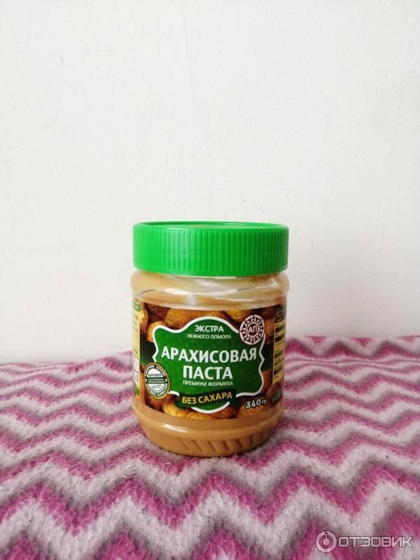 Арахисовая паста (масло): польза и вред, калорийность, рецепты