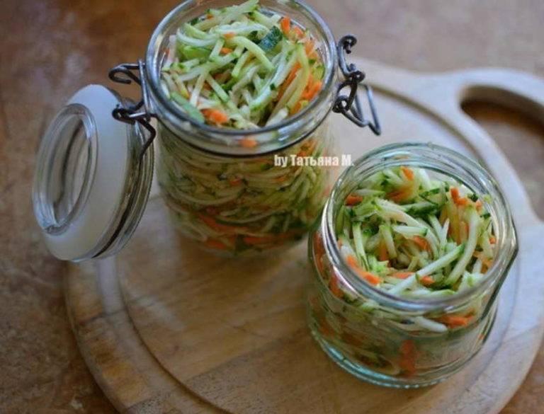 Кабачки по-корейски на зиму – 6 самых простых, вкусных, быстрых рецептов приготовления