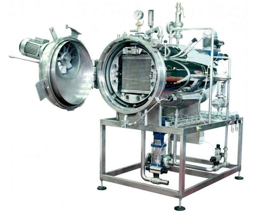 Способ охлаждения консервов в автоклаве после тепловой обработки —  su   1743541