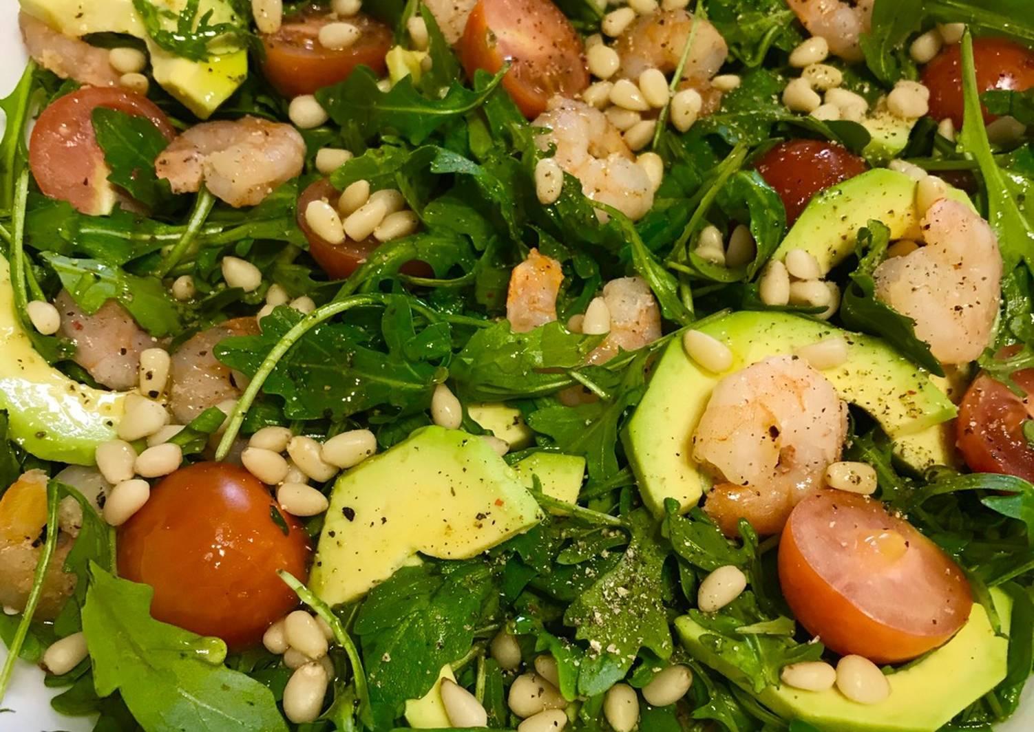 Салат из авокадо и рукколы – кулинарный рецепт