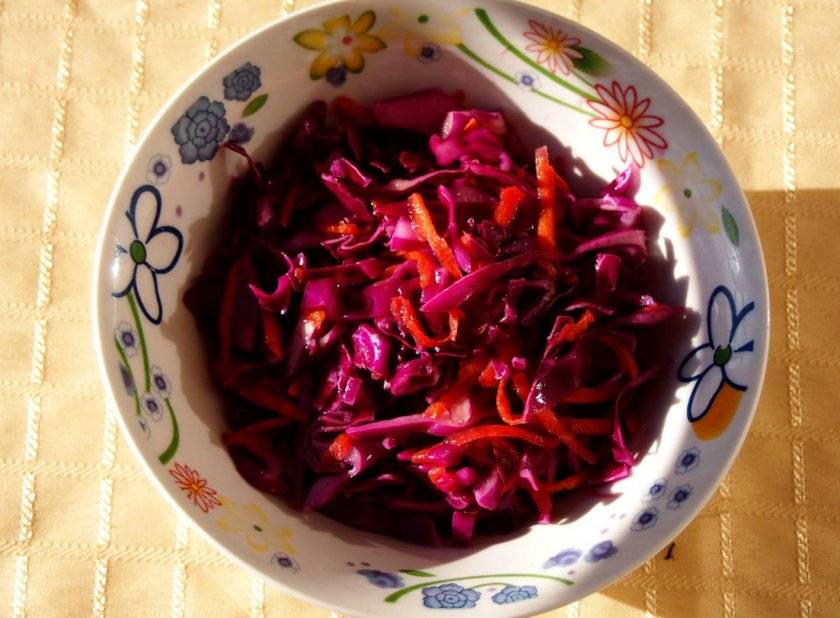 Салат на зиму из краснокочанной капусты – отличная и полезная закуска, украшающая любой стол: рецепты с фото и видео