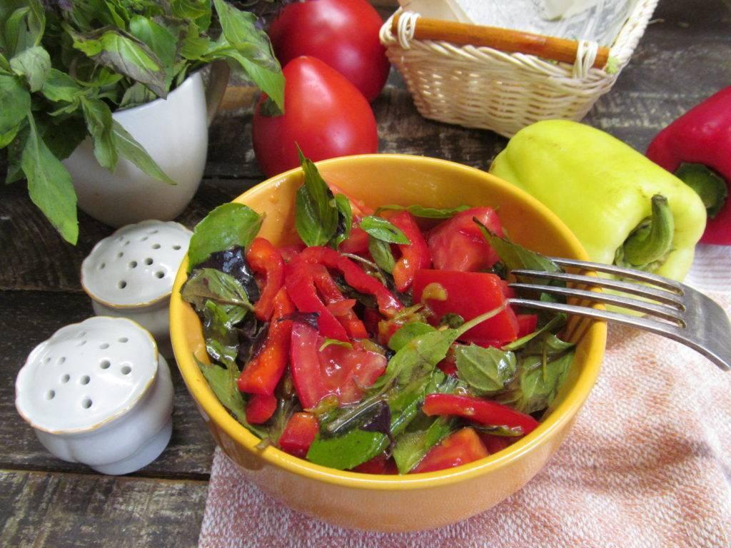 Салаты из печеных баклажанов, перцев и помидоров: пп-рецепты на выбор