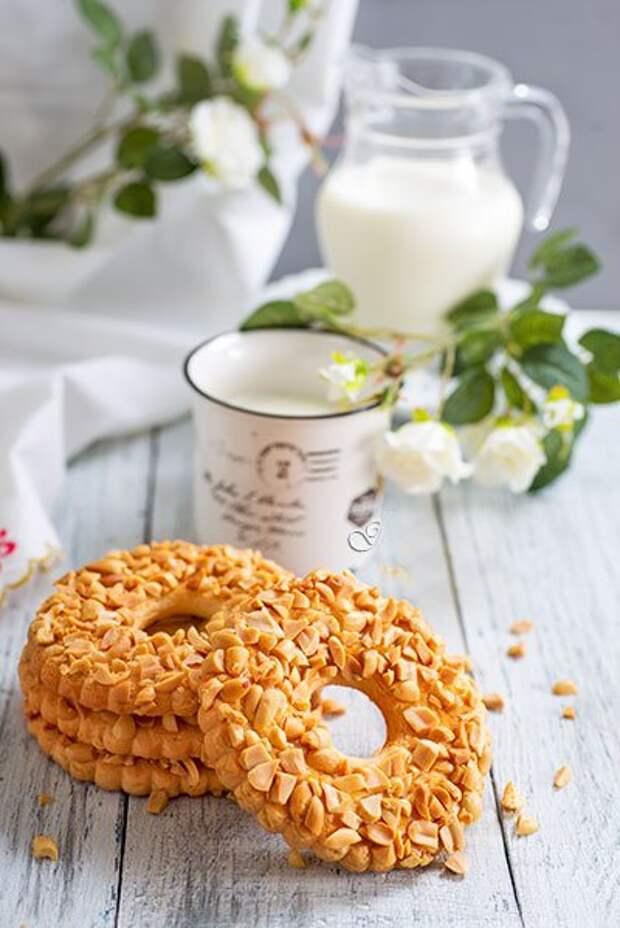 Песочное кольцо с орехами (гост) | как приготовить на webpudding.ru