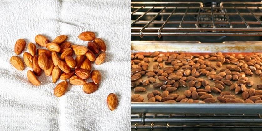 Когда и как нужно сушить миндаль? Как понять, что орех просох?