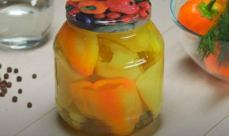 Перец, консервированный на зиму, для фарширования - 7 пошаговых фото в рецепте