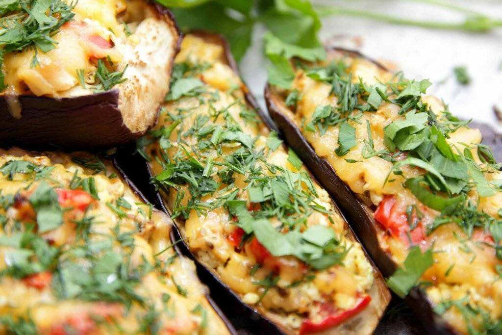 Баклажаны с фаршем в духовке – 10 рецептов с пошаговыми фото
