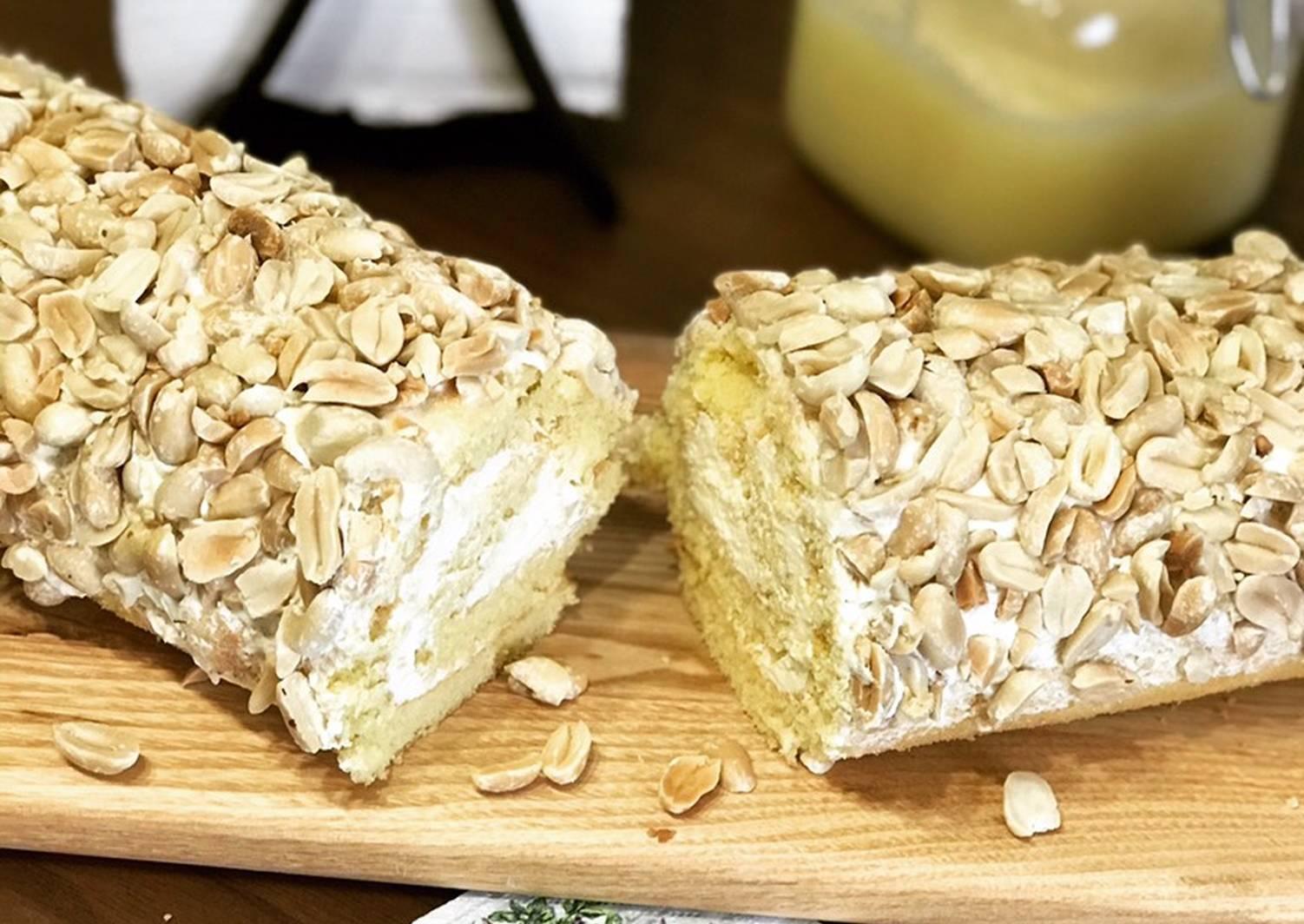 """Песочные колечки с арахисом """"вкус из детства"""" – кулинарный рецепт"""