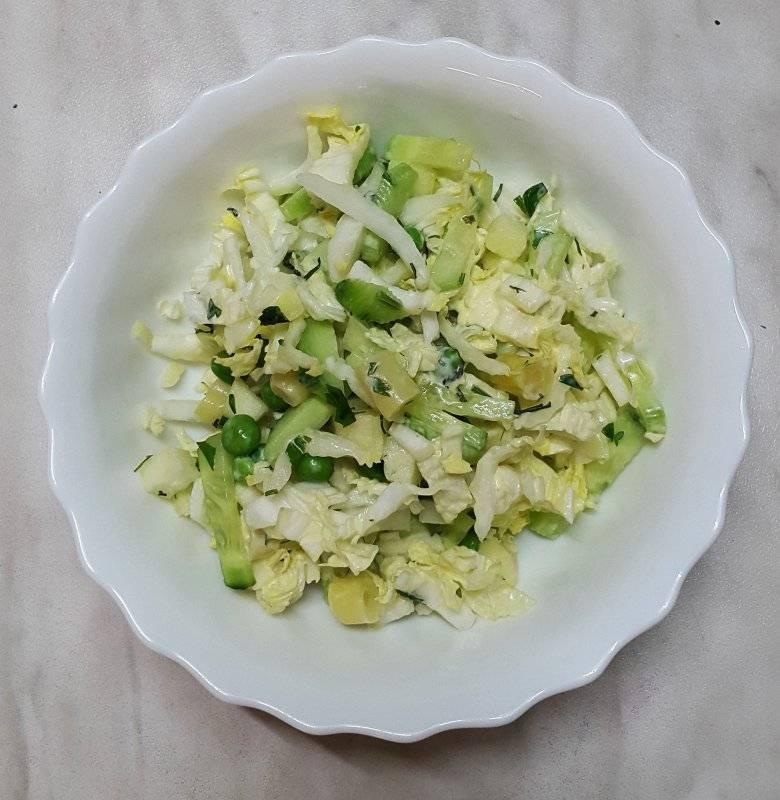 Как приготовить салат из молодой капусты рецепты