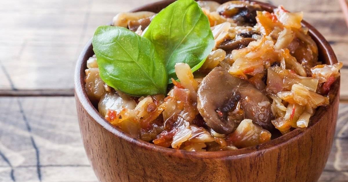 Рецепты приготовления солянки с грибами и капустой