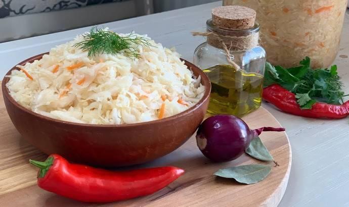 Капуста провансаль классический рецепт с фото пошагово - 1000.menu