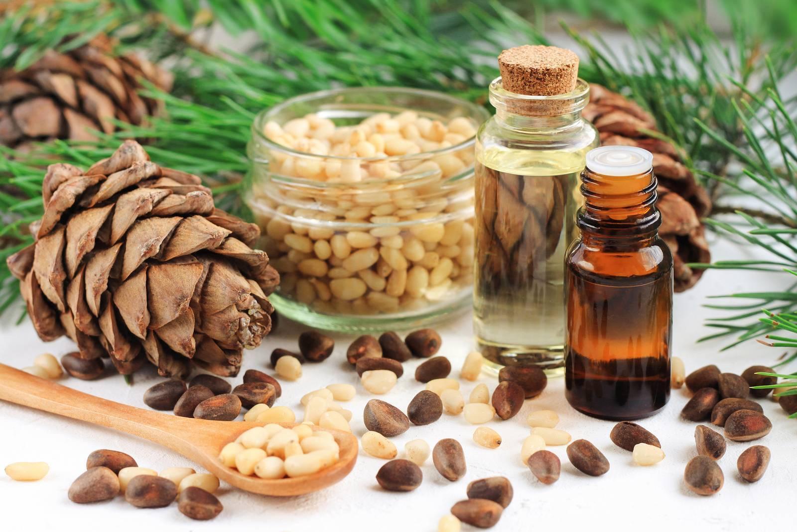 Эфирное масло кедра: свойства и применение в народной медицине