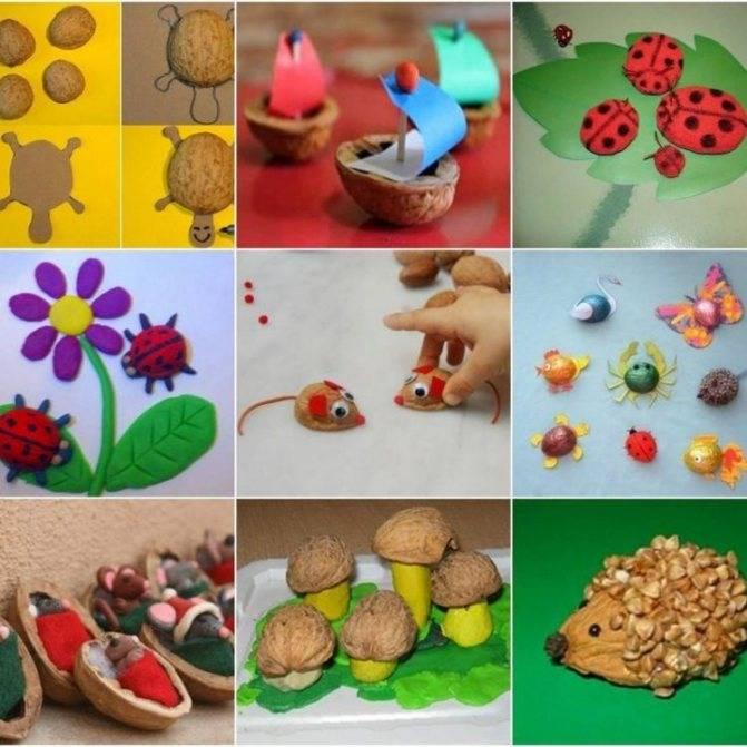 Поделки из орехов: 100 фото и мастер-класс изготовления красивых поделок