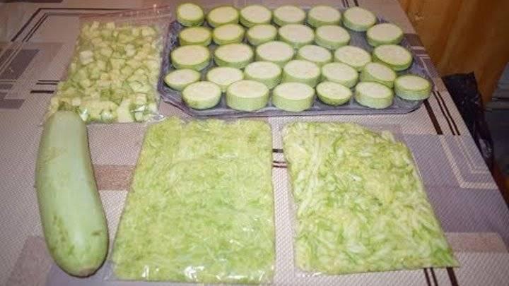 Заморозка кабачков на зиму в домашних условиях: делаем овощное «тесто» и варианты «только разогреть»