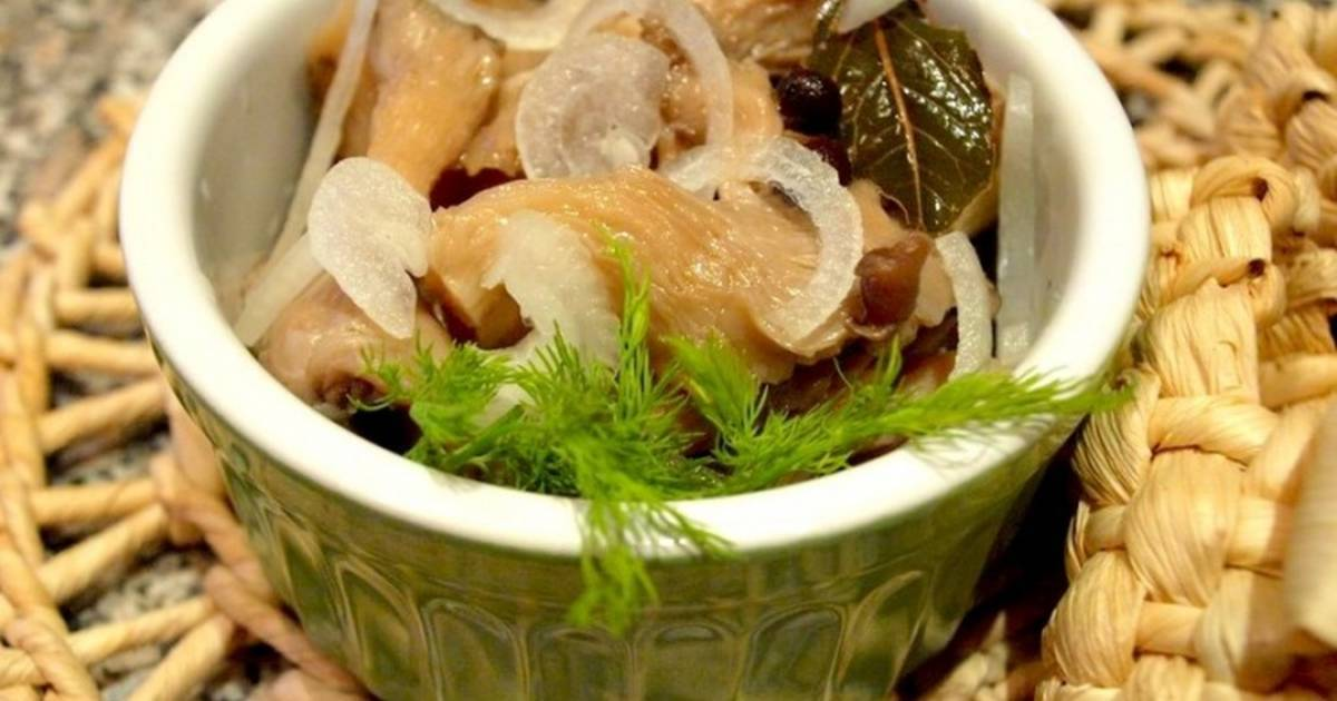 Соленые вешенки: рецепт приготовления в домашних условиях