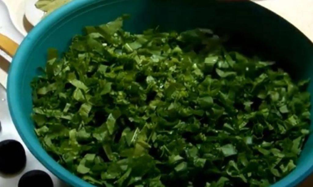 Витаминная заготовка для зеленого борща на зиму – домашние заготовки