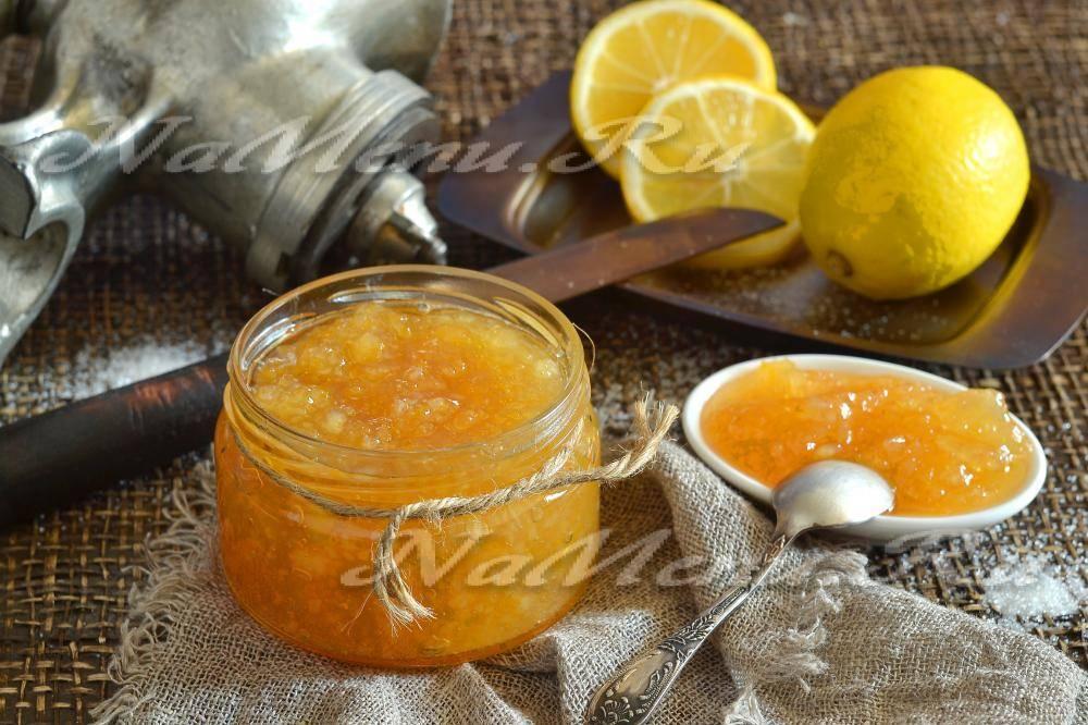 Варенье из лимонов — 7 лучших рецептов - рецепт с фото пошагово
