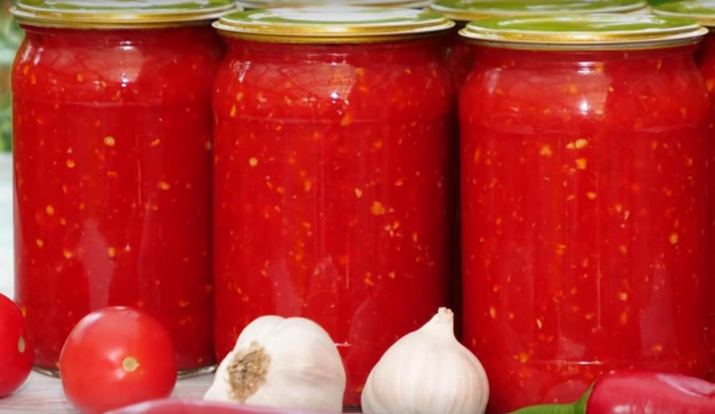 Как приготовить соус огонек на зиму