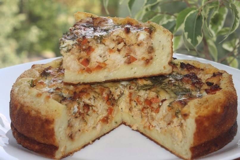 9 удивительных рецептов пирогов с мясом и картошкой  в духовке