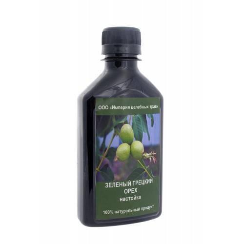 Настойка зеленого грецкого ореха на водке – применение, отзывы