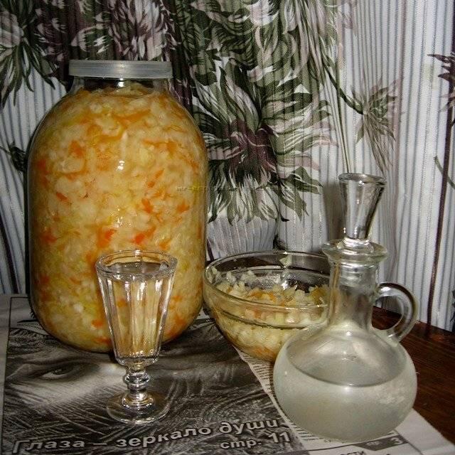Квашеная капуста - классические рецепты квашеной капусты быстрого приготовления на зиму в банке