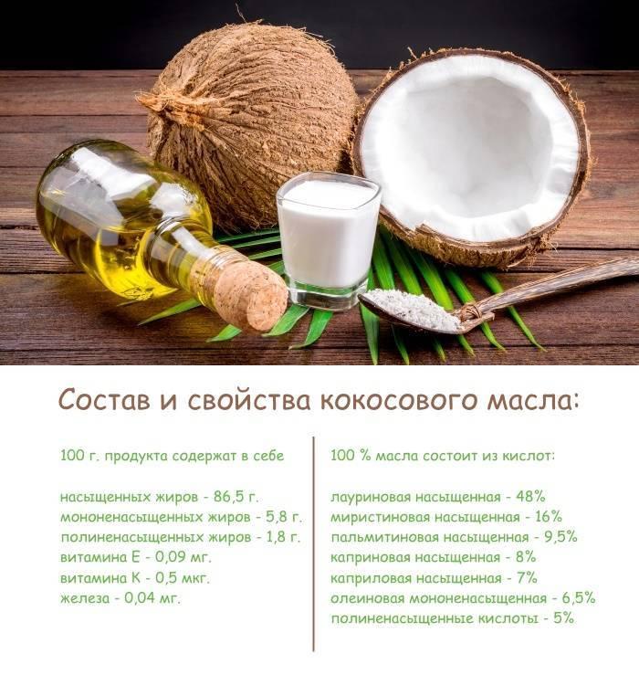 Кокосовое масло (для еды, в косметологии): полезные свойства и вред