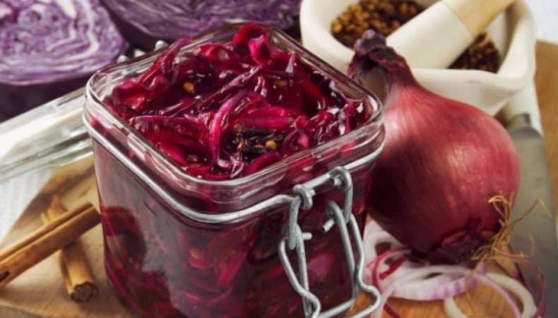 Краснокочанная капуста на зиму — 6 лучших рецептов
