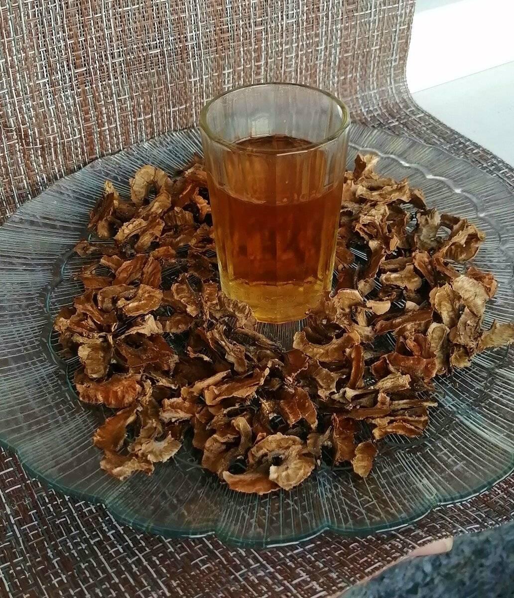 Рецепты настоек на перегородках грецкого ореха