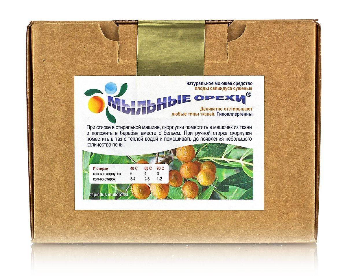 Мыльные орехи: что это такое, польза и вред, применение