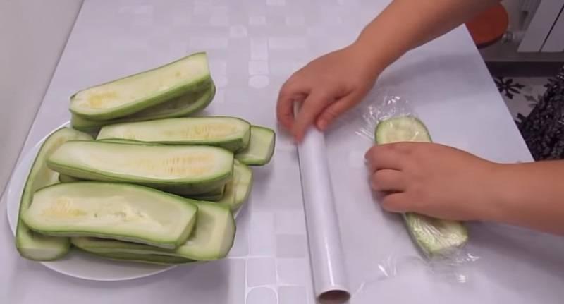 Заморозка кабачков на зиму: как заморозить, способы