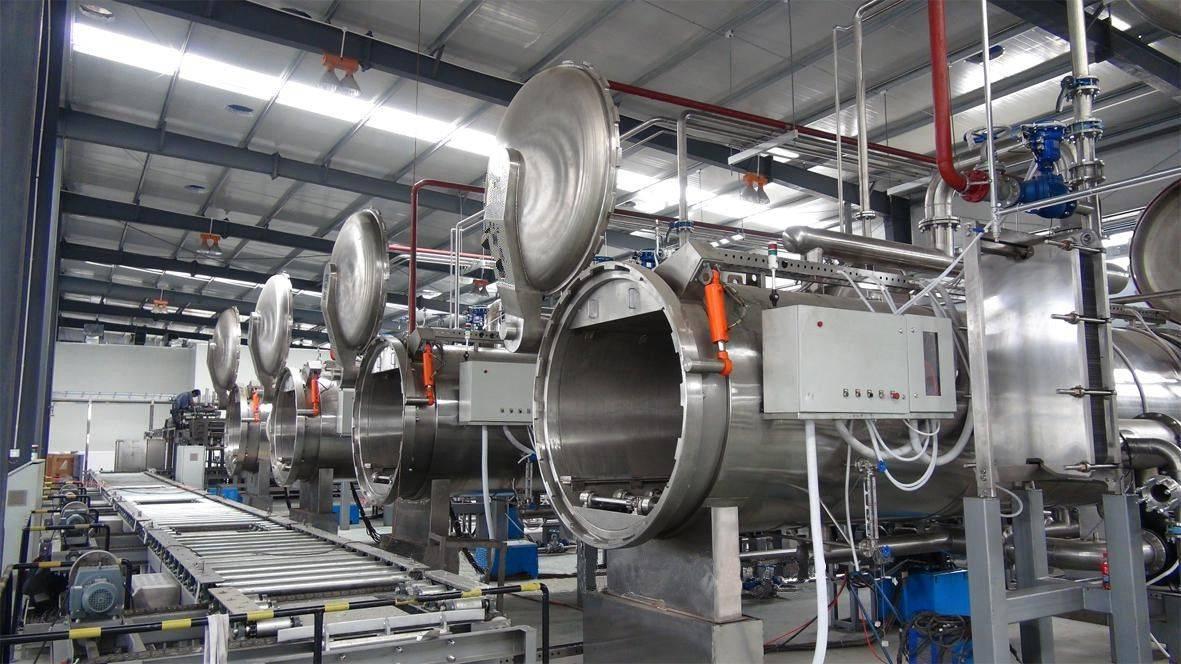 Способ охлаждения консервов в автоклаве после тепловой обработки