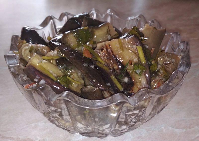 Маринованные баклажаны быстрого приготовления - 6 рецептов с фото