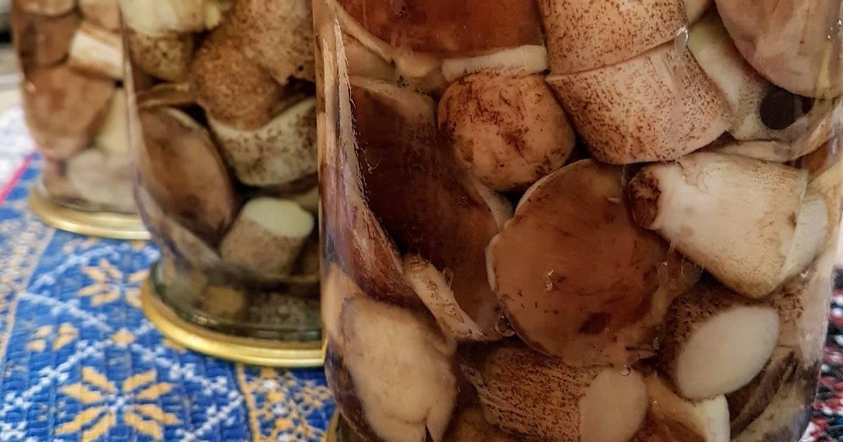 Грибы маринованные рецепты приготовления на зиму