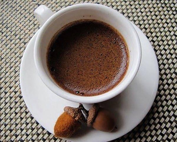 Варим кофе из желудей - рецепт и полезные свойства