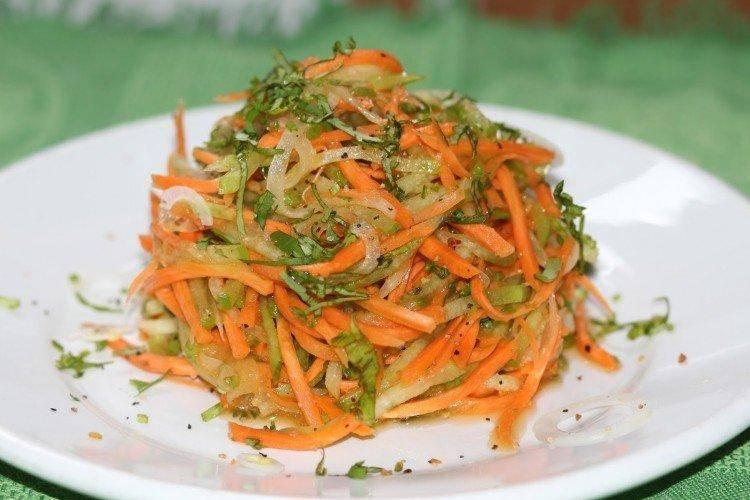 10 простых и вкусных салатов из редьки