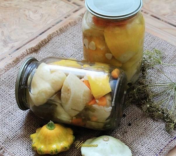 Патиссоны на зиму, вкусные рецепты с фото пальчики оближешь. как приготовить патиссоны на зиму: соленые, без стерилизации, маринованные в банках