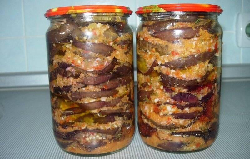 Быстрые рецепты приготовления маринованных баклажанов