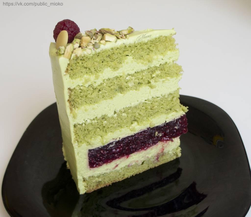 Торт с малиной - 32 домашних вкусных рецепта приготовления